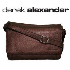 Derek Alexander 3/4 Flap Leather Bronze Organizer